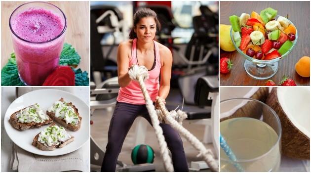 O que comer antes e depois da academia para ter energia e ainda perder peso?